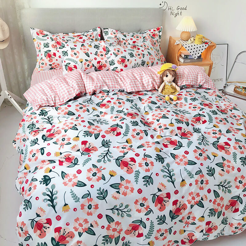 duvet cover with bedsheet