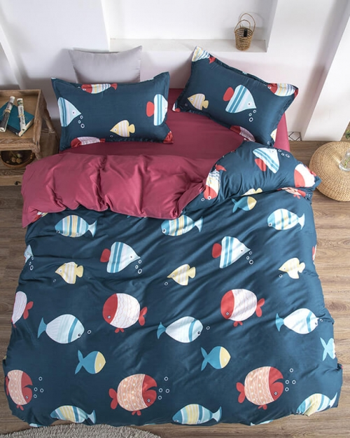 deep sea duvet cover set