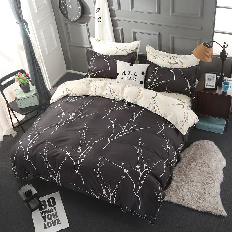 duvet cover with bed sheet